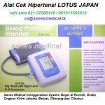 alat-cek-hipertensi-tensimeter-blood-pressure-monitor-lotus-japan-digital-indicator