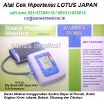 alat-cek-hipertensi-tensimeter-blood-pressure-monitor-lotus-japan-digital-indicator